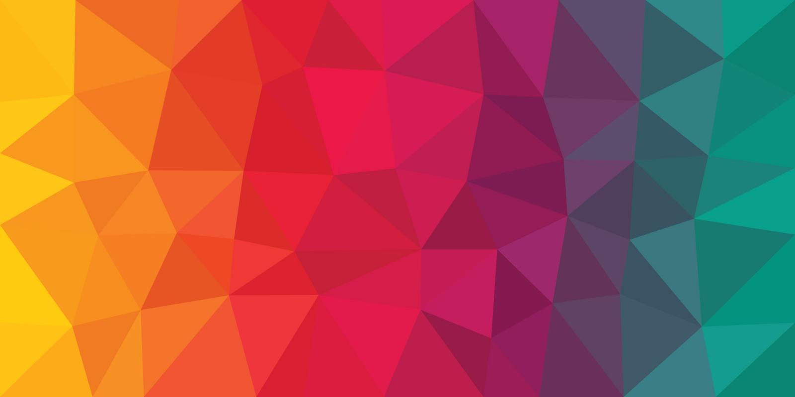 Rainbow background pattern geometric